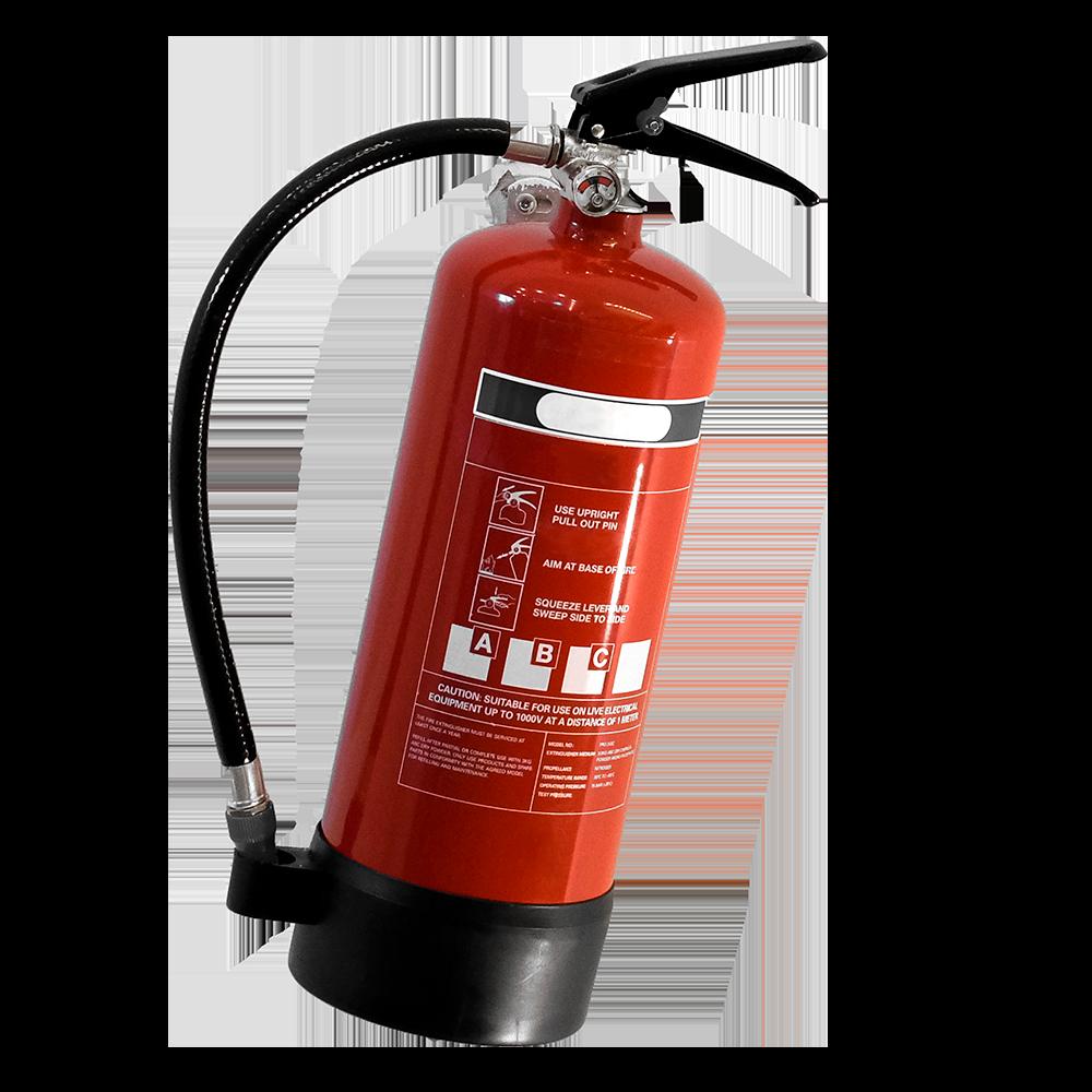 Brandalarm: brandblussers maken deel uit van uw brandbeveiliging