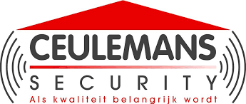 Oude logo van Ceulemans Security
