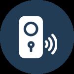 Toegangscontrole gekoppeld aan uw alarmsysteem