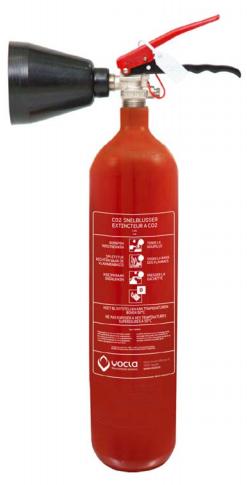 Brandblusser kopen België - CO2 blusser 2KG