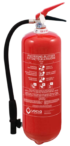Brandblusser kopen België - Poederblusser 6KG
