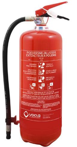 Brandblusser kopen België - Poederblusser 9KG